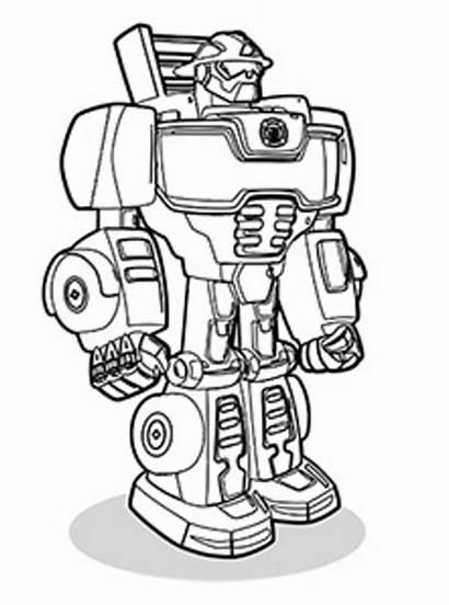 Heat Wave Rescue Bots Coloring Transformers Fun