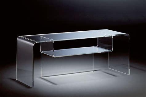 Plexiglas Als Tischplatte by Hochwertiger Acryl Glas Tv Tisch Tv Rack Klar 110 X 33