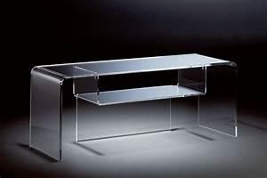 Tv Tisch Aus Glas : hochwertiger acryl glas tv tisch tv rack klar 110 x 33 cm h 38 cm acryl kaufen bei ~ Bigdaddyawards.com Haus und Dekorationen