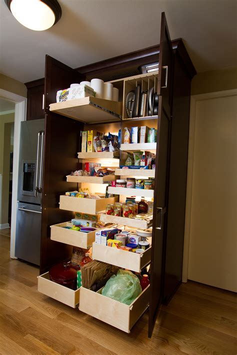 Pull Out Pantry Cabinets For Kitchen with Transform Your