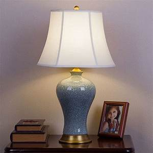 Modern, Chinese, Style, European, Style, All, Ceramic, Ceramic, Retro, Table, Lamp, Bedroom, Bed, Room, High