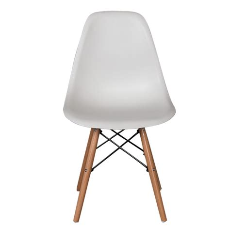eames replica dining chair white