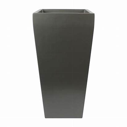 Square Planter Grey Tall Windsor Root Planters
