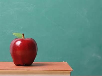 Teacher Apple Classroom Elementary Wallpapers Backgrounds Desktop