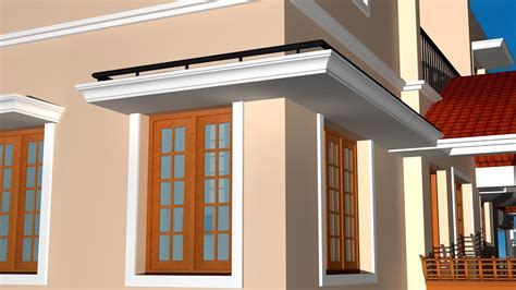 Window Shades For House by Creating Sun Shades With Detailing Autocad 3d Sun Shade