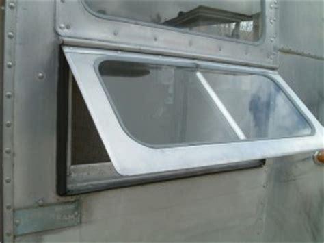 window repair vintage airstream