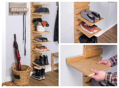 easy  cheap diy shoe rack ideas simplyhome