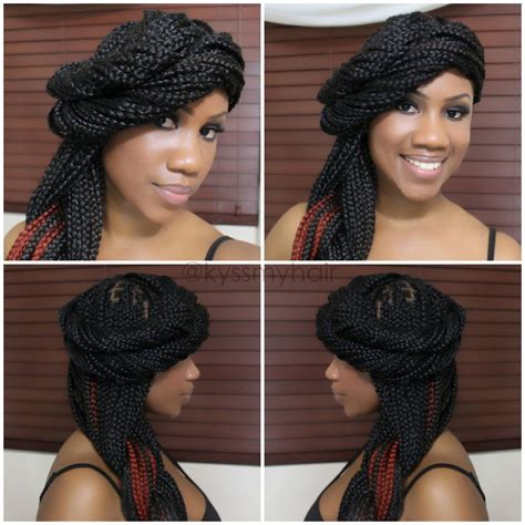 simple hairstyles for box braids four simple styles for box braids part two kyss my hair