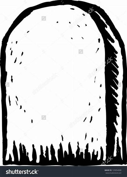 Tombstone Clipart Grave Cartoon Headstone Illustration Gravestone