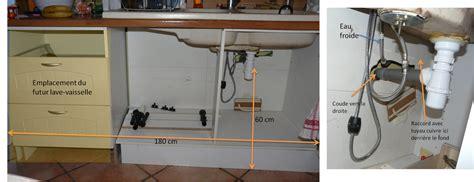 raccordement d un lave vaisselle encastrable dans cuisine con 231 ue