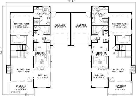 kitchen design autocad stylish flanking home plans 59787nd 1st floor master 1094
