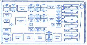 Daewoo Nubira 2002 Engine Fuse Box  Block Circuit Breaker Diagram  U00bb Carfusebox