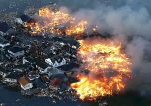 Japan Earthquake Fire