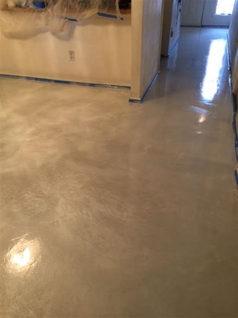 Decorative Stained Concrete Flooring in Plano, TX
