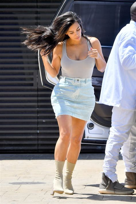 Kim Kardashian Summer Outfit Ideas - Out in Nobu Malibu 6/19/2016