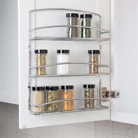 Door Spice Rack by Real Solutions For Real 3 Tier Door Spice Rack Rs