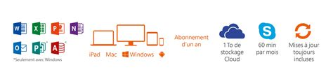 pc mac bureau microsoft office 365 home pc mac 5 user logiciel de