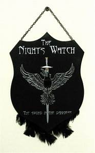 The Night's Watch - plaque by RFabiano on DeviantArt