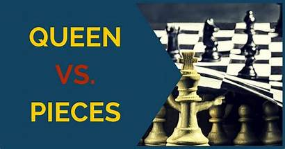 Queen Pieces Important Principles Attacking Chess King
