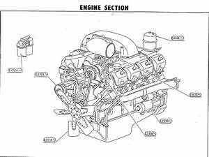 A Diagram For Volvo Semi Truck Engine