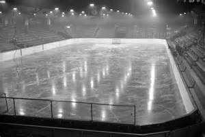 hockey rink at the forum city of vancouver archives
