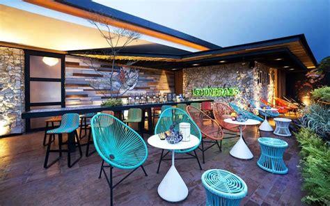chambre theme espace restaurant design paradisiaque au cœur de l indonésie