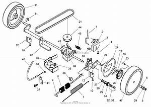 Toro 22 Recycler Lawn Mower Ignition System Wiring Diagram