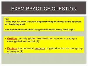 L3 U00264 Globalisation Impacts