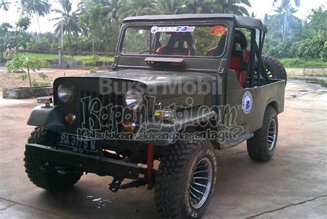jeep willys indonesia dijual