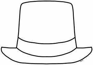 Top Hat Coloring Page - Coloring Home