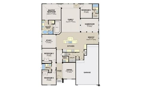 ryland homes orlando floor plan  home plans design