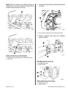 How Do I Winterize Motor And Outdrive 7 4 Bravo One