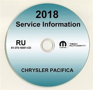 2018 Chrysler Pacifica Shop Service Repair Manual Cd