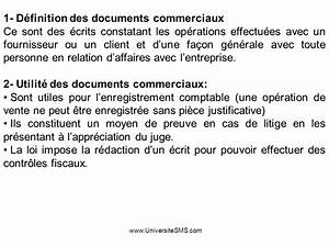 partie ii operations courantes ppt video online telecharger With definition du documents