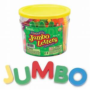 jumbo magnetic letters uppercase With jumbo magnetic letters and numbers