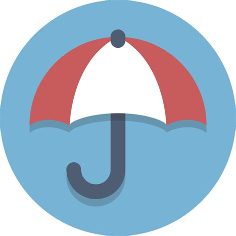 filecircle icons umbrellasvg wikimedia commons
