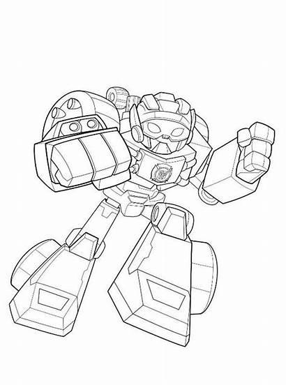 Shot Coloring Transformers Bots Rescue Fun Kleurplaat