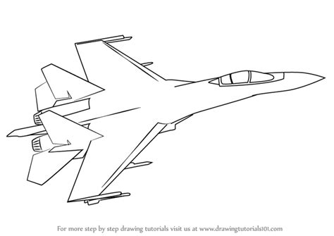 step  step   draw sukhoi su
