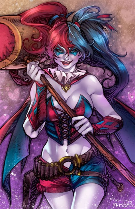 harley quinn colors harley quinn by pant colors by giuliapriori on deviantart