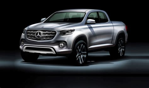 mercedes pickup mercedes benz confirms its first pick up truck by car magazine