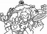 Coloring Arcade Getcolorings Avengers sketch template