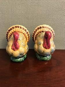 Turkey, Salt, And, Pepper, Shakers, Lefton, Salt, Pepper, Shakers, Thanksgiving, Salt, Pepper, Set