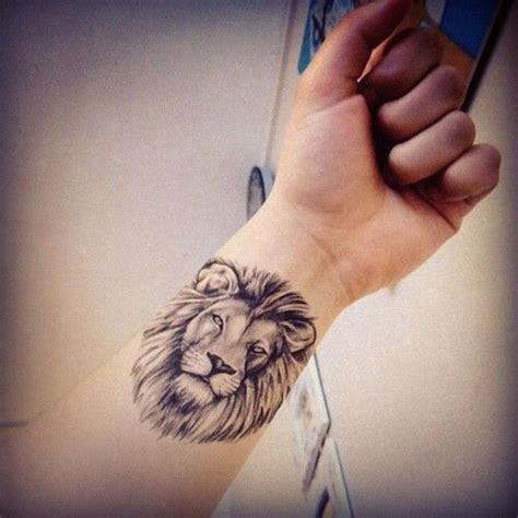 14 Lion Tattoos Wrist Design