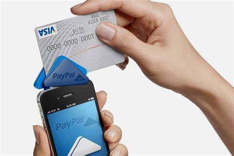 In case you are not clear, they won't do anything to your credit card; Mini Mobile Payment Devices: 'PayPal Here' Allows Easy Transactions for Small Businesses