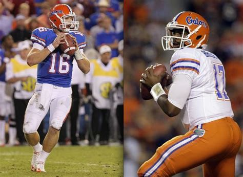 Jeff Driskel and Jacoby Brissett. Who's it gonna be ...