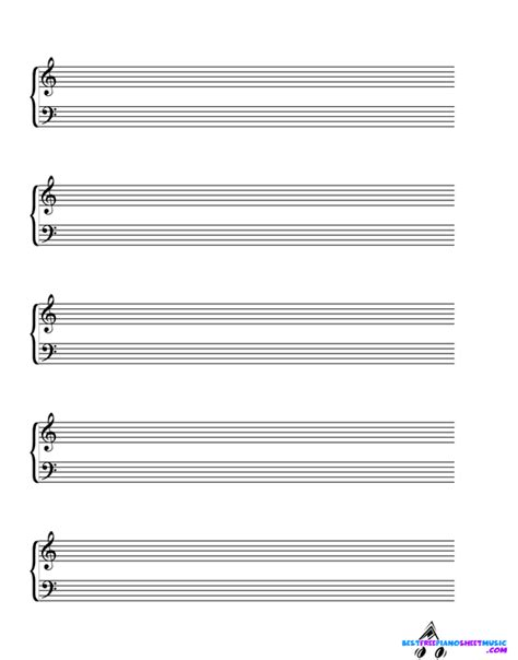 blank sheet music bestfreepianosheetmusic com