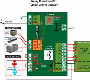 Relay Board And Transformer