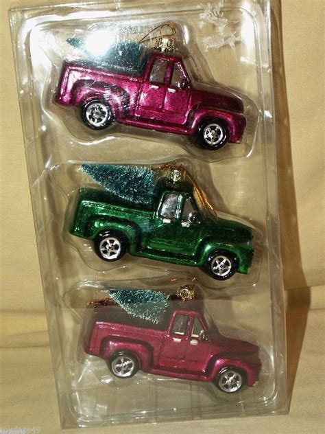 chevrolet chevy  truck christmas holiday ornament