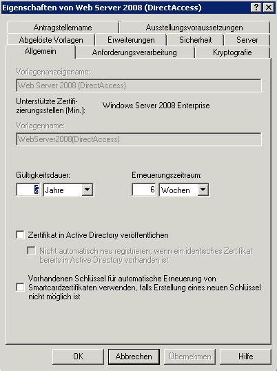 howto einrichtung von directaccess technikblog