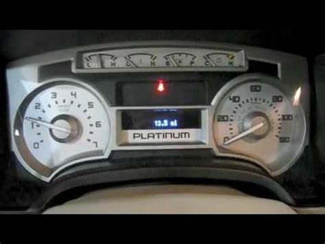 2010 ford f150 platinum start up engine and in depth tour